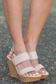be84d7b1072f8 No Contest Wedges-Nude Flip Flop Sandals
