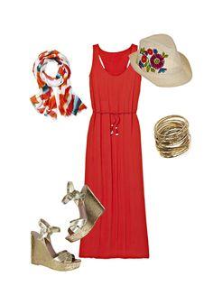 3 Gorgeous Ways to Style A Maxidress