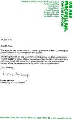 Christmas Donation Letter - A Christmas donation letter not only ...