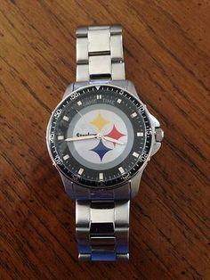Danbury Mint Pittsburgh Steelers Pocket Watch Starting Bid