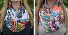 Best Selling Aztec Infinity Scarves! {http://vryjn.it/1A0mLTk } #janedeals #onlineshopping #scarf #infinityscarf #aztec
