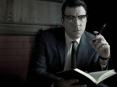 'American Horror Story: Asylum': Zachary Quinto as Dr. Thredson