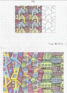 #tessellation #tiling #geometry #symmetry_art #symmetrybuff #pattern #handmade #ink #mandala #Escher #mcescher #artist_sharing #art_empire #sacredgeometry #structure #reptiles #isometric #isometricart