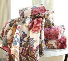 Keira Palampore Organic Bath Towels #potterybarn