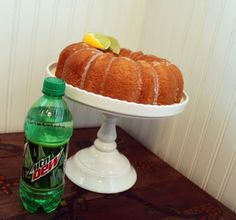 Mountain Dew Cake - A little too sweet for my taste. Next time I'll use half the mountain dew required.