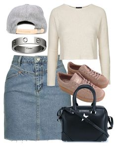 """""""Untitled #4623"""" by style-by-rachel ❤ liked on Polyvore featuring Topshop, Givenchy, Cartier, Reality Studio, women's clothing, women, female, woman, misses and juniors"""