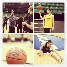 Today's practice at Energy Solutions Arena. #WATCHUS #BEATGONZAGA #MarchMadness