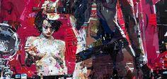 Derek Gores – Περίτεχνα έργα τέχνης φτιαγμένα από κολάζ [Pics & Vid] Derek Gores, Alternative Art, Collage, Collages, Collage Art, Colleges