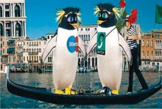 """Read more: https://www.luerzersarchive.com/en/magazine/commercial-detail/switch-28594.html Switch Switch """"Penguins in Venice"""" (00:30)# A similar minimax-principle is advertised in this spot: get as much as possible for as little money as necessary. How to do this to greatest advantage is illustrated by the penguin couple shown here in musical style. If they're anything, they surely are unforgettable… Tags: Ruan Milborrow,Passion, London,CDP-Travissully, London,Switch,Joel Veitch"""