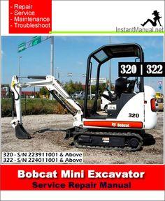 5dcbd36fe00205b4f87efb76ec76460e bobcat 325 328 mini excavator service manual 6 in 1 bobcat mini Bobcat 325 Mini Excavator at highcare.asia