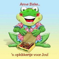 Beterschap Get Well Soon, Printables, Om, Fictional Characters, Frogs, Products, Get Well, Print Templates, Fantasy Characters
