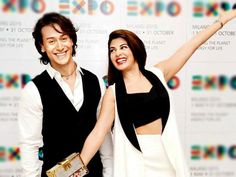 Tiger Shroff and Jacqueline Fernandez New Upcoming movie The Flying Jat release date, star cast 2016 Poster