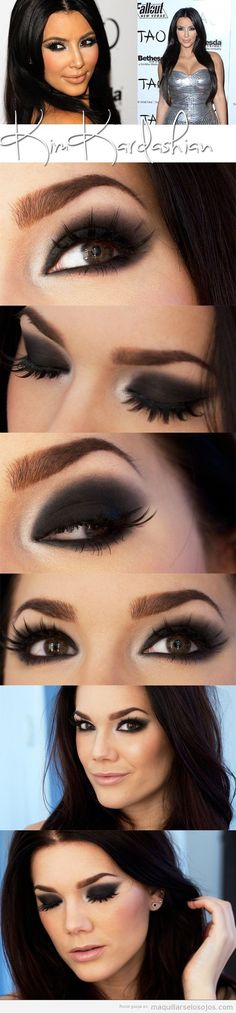 deep smokey eye, so gorgeous!
