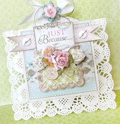 Beautiful card by Karola Witczak