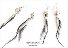 RnR earrings  http://rocknroses-gr.blogspot.gr/