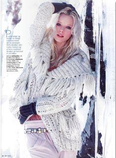 Odd Molly knit cardigan with frills in KK Magazine Norway, January 2011