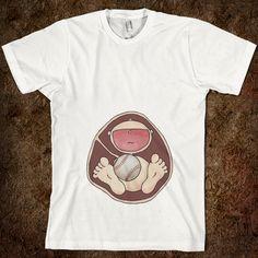Baseball Baby in Belly