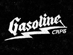 I had a great time working with Edwin Tofslie on the rebrand of his company Gasoline Caps. They specialize in vintage ball caps revolving around gasoline culture which made for a really great aesthetic to work within.