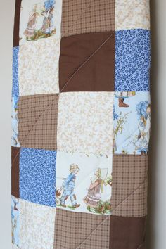 Holly Hobbie Quilt New Free Shipping by bethbader on Etsy
