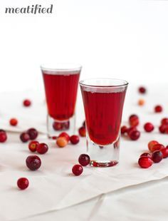 Cranshine: Homemade Cranberry Vodka http://meatified.com