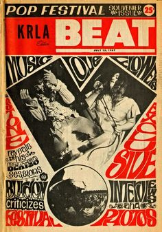 Monterey Pop Festival, Hippie Men, Psychedelic Music, Concert Posters, Music Posters, Jimi Hendrix, Rock N Roll, Beats, Cover