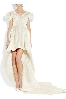 amazing McQueen wedding dress