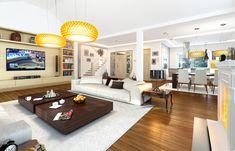 Проект дома «Парковая резиденция 2» представительского класса, напиминает стиль строения французских и американских пригородных резиденций Gallery Wall, Villa, Couch, Contemporary, Furniture, Home Decor, Settee, Decoration Home, Sofa