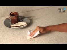 Škvrny od čokolády - Kolekcia latok AquaClean - YouTube