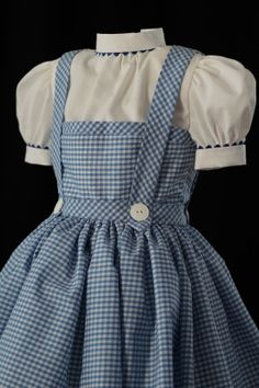 Adult Dorothy Costume Dress Custom Made by NeverbugCreations, $450.00