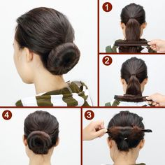 Beauty Donut Hair Bun Maker Fashion DIY Magic Bun French Twist Doughnuts Hair Band Accessories Hair Making Styling Disk Tool for Girls 5 Pack -- To view further for this article, visit the image link. #hair