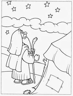 Abraham Sunday School lesson, Abraham bible lesson