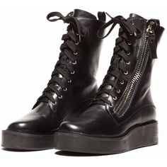 Trench Boot Shoes (99 AUD) ❤ liked on Polyvore featuring shoes, boots, ankle booties, footwear, leather booties, leather boots, genuine leather boots, real leather boots and leather ankle booties