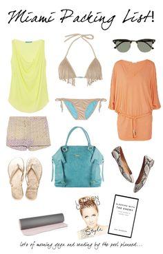 beachy vacay packing list!
