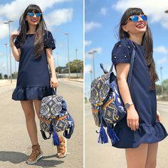 Boho backpack - Temporada: Primavera-Verano - Tags: look, ootd, boho, fashion, stardivariusblog - Descripción: Look básico con complementos de lujo de KLZburriana #FashionOlé
