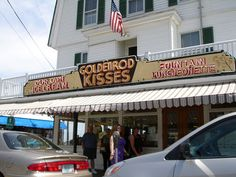 York Beach, Maine. We lived here when I was young, my mom rarely let us buy kisses. I remember begging her to go in on our way to the beach. What wonderful memories, sigh...