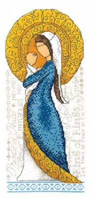 Mother and Child (cross stitch) :: Found at Nordic Needle, only the product seems to be discontinued.  I would LOVE to find this chart!