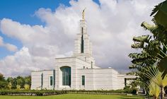 Accra Ghana Temple. LDS are also known as Mormons or The Church of Jesus Christ of Latter Day Saints