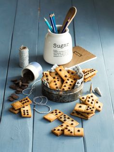 Sablés Domino Choco/Coco/Banane (sans œufs ni beurre) | La Raffinerie Culinaire