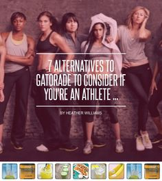 7 #Alternatives to Gatorade to Consider if You're an Athlete ... - #Fitness