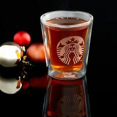 Starbucks® Double Wall Glass, 6 fl oz. $6.95 at StarbucksStore.com