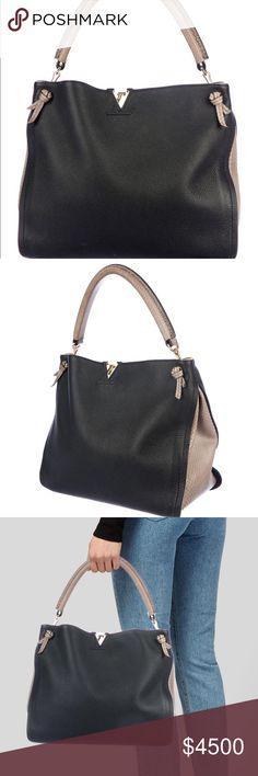 f625fa540c ️Luis VuittonTaurillon Tournon Hobo Black Taurillon leather Louis Vuitton  Tournon hobo with brass hardware