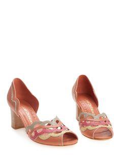 Scarpin Peep Toe Renoir - SARAH CHOFAKIAN $ 995,00