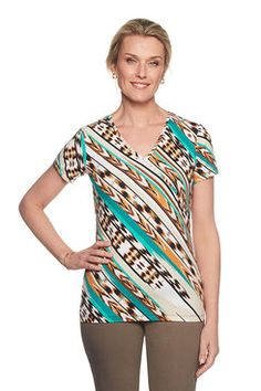 Shop our lively selection of Ruby Rd Missy tops. A variety of styles for all occasions including: sharkbite hem tops, bell sleeve tops, embellished tops, blouses, tees and shirts. Bell Sleeves, Bell Sleeve Top, Embellished Top, Santa Fe, Tees, Shirts, Printed, Blouse, Shopping