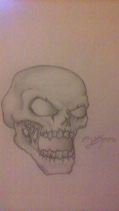 Gems of war inspired skull