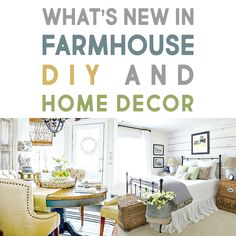 We've Got What's New in Farmhouse DIY and Home Decor Ideas - The Cottage Market