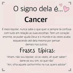 Resultado de imagem para ela é de câncer