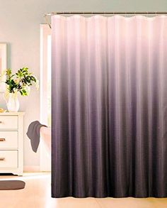 13 Piece Luxurious Waffle Weave Fabric Ombre Shower Curta... Https://