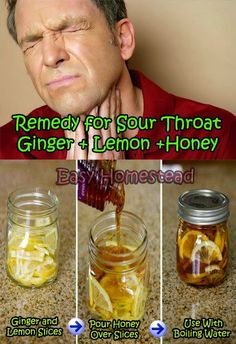 Natural Remedy for Soar Throat