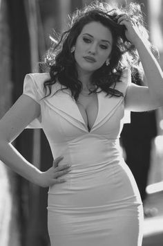 lowest price 5eb51 2d26b Kat Dennings. I like her. Plus Size Fashion, Curvy Fashion, High Fashion