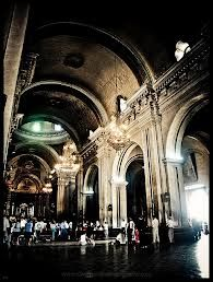 Inside the Esquipulas Basilica